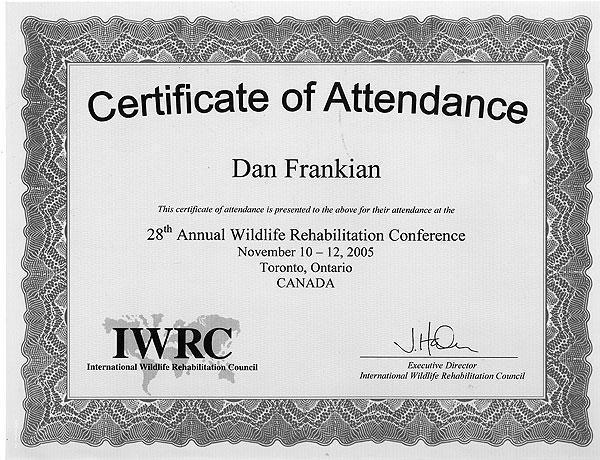 Annual Wildlife Rehabilitation Conference